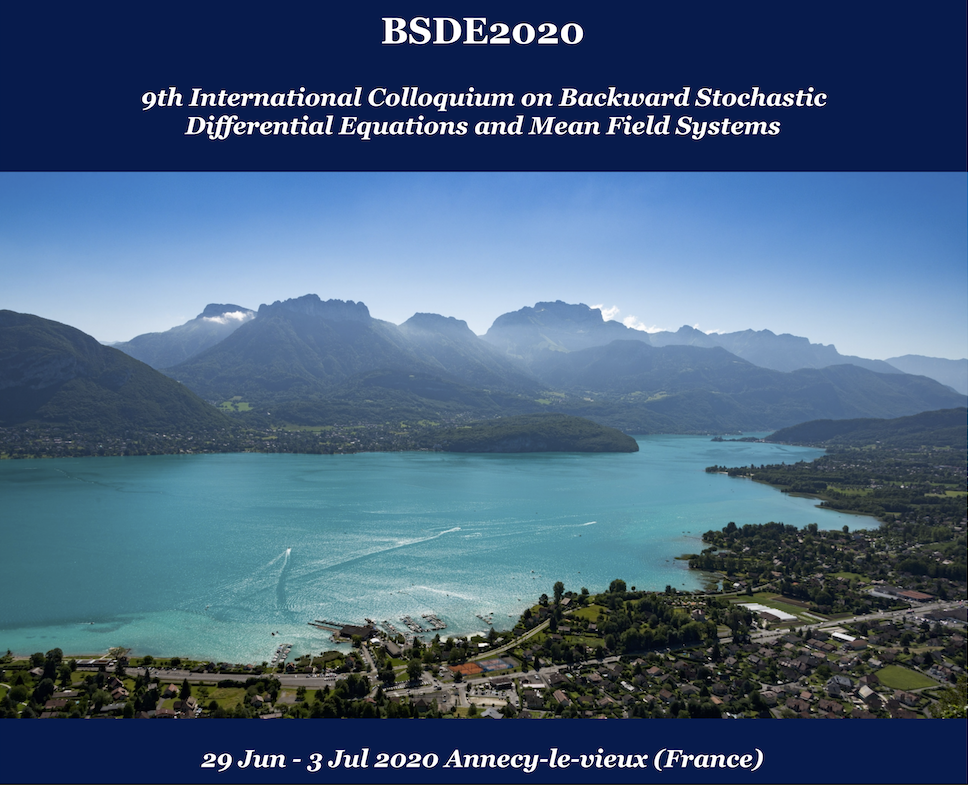 9th International Colloquium on Backward Stochastic